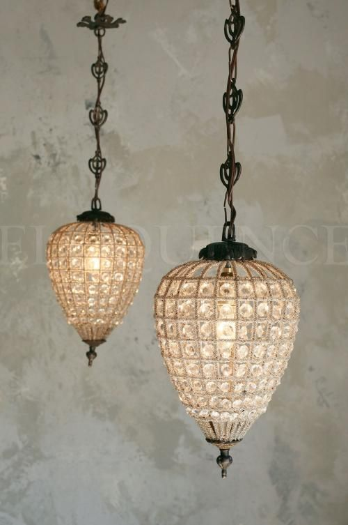 Antique Reproduction Small Beaded chandelier. Hand strung in Turkey, made  from glass beads and - 65 Best Lighting Images On Pinterest Chandeliers, Architecture