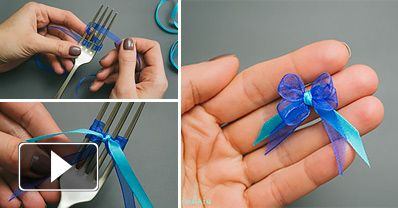 How to Make Tiny Bow - DIY & Crafts - Handimania