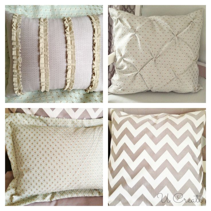 Throw Pillow Fabric Ideas : 17 Best images about Magic with Fabric and Trim on Pinterest