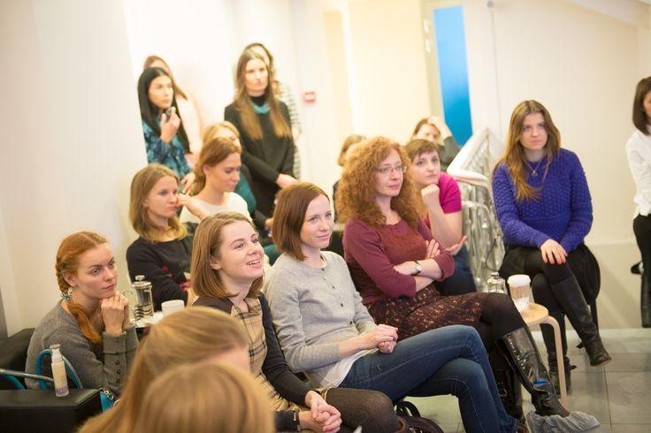 Beauty-редакторы и блоггеры на презентации марки skyn ICELAND в России — at Время Красоты.