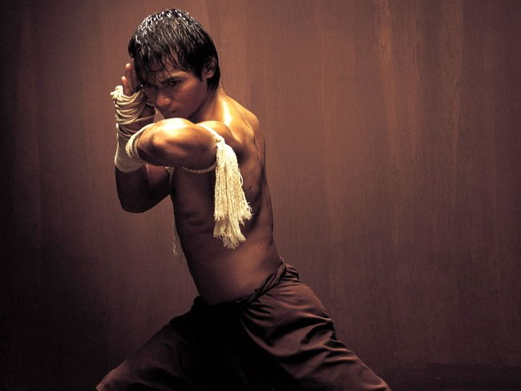 The legend posing for one of the best martial arts movies ever