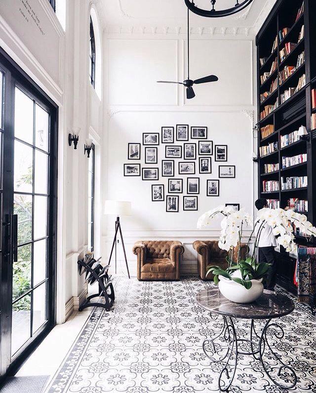 White Interiors 124 best black & white interiors images on pinterest | home, live