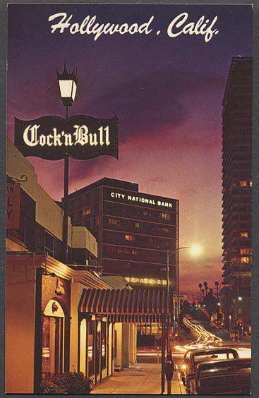 The Cock n' Bull on Sunset Strip