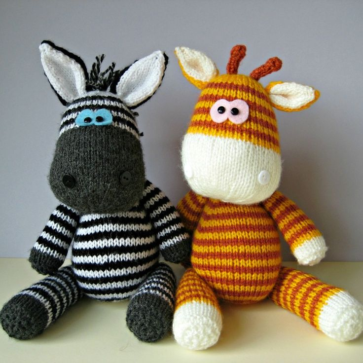 Knitting Animals Free : Images about knitted toys and doll clothes on