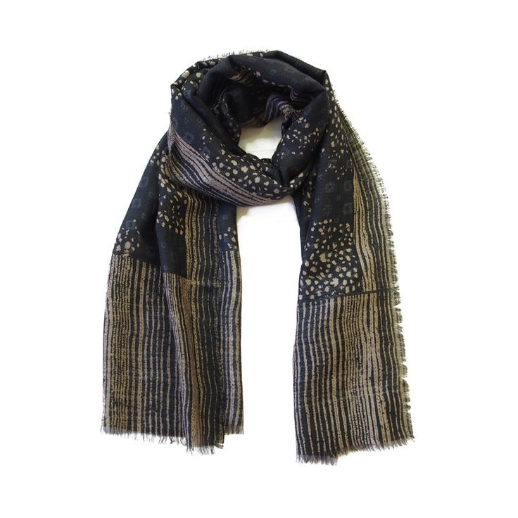 Modal Scarf - Anika in Grey on Repeat by VIDA VIDA