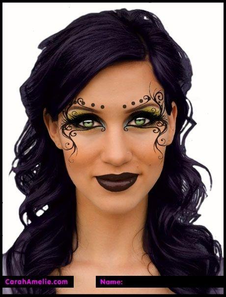 Mardi Gras Makeup!! ~ makeup by bevyC