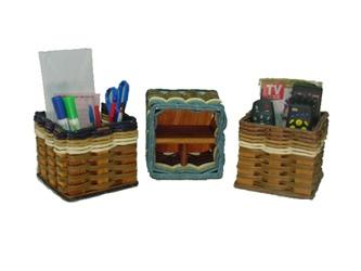 Foxcreek Baskets: Desk Organizer
