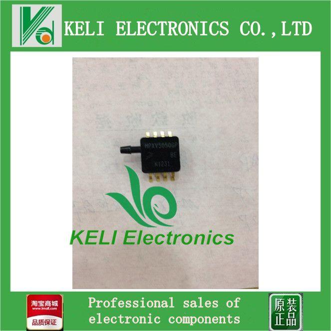 1PCS   MPXV5050GP SENSOR GAUGE PRESS 7.25PSI MAX MPXV5050 Freescale Semiconductor 5050