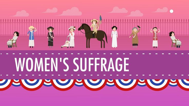 Women's Suffrage in US Ch 18 (some questionable humor)