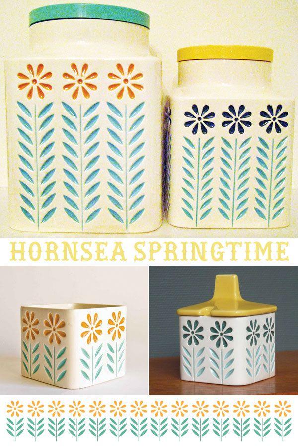 one little bird: retro ceramics - Horsea Springtime