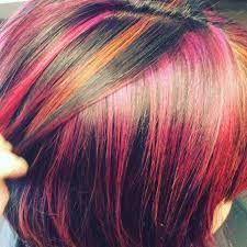 Bildresultat för färgglatt hår