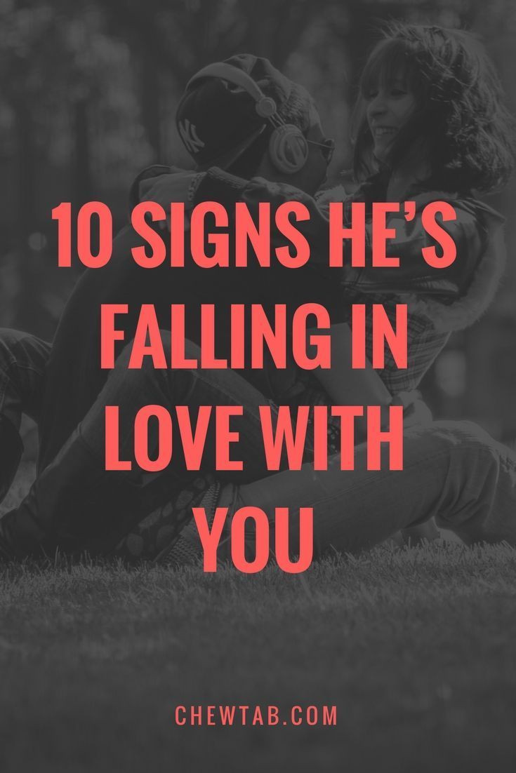 10 Signs He's Falling In Love With You | Dating | Falling for you