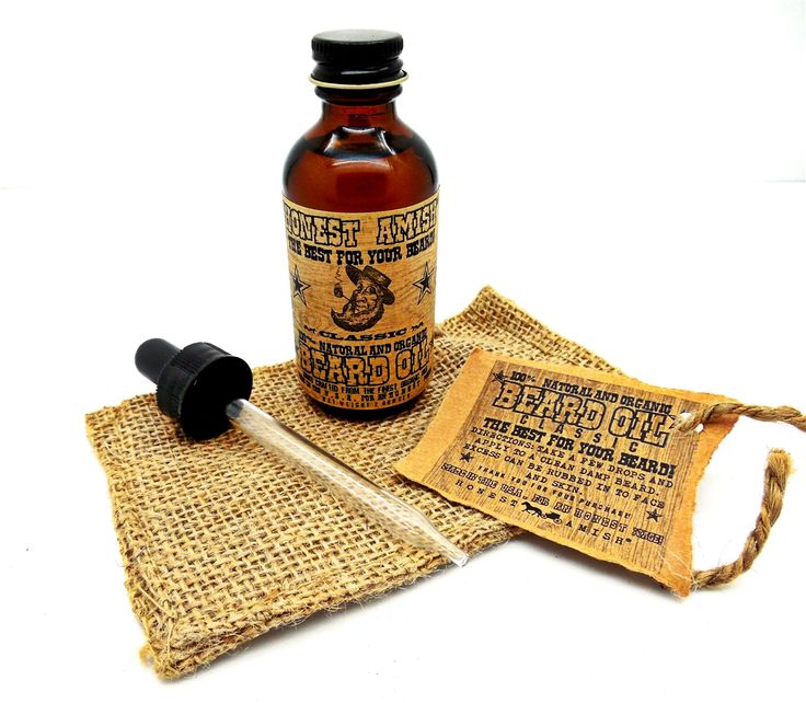Honest Amish Classic Beard Oil. The Best for Your Beard! Check out our in depth article about the best beard oils. And yes, Amish beard oil is among them.  #beardoil #beardgrooming #honestamish #beards