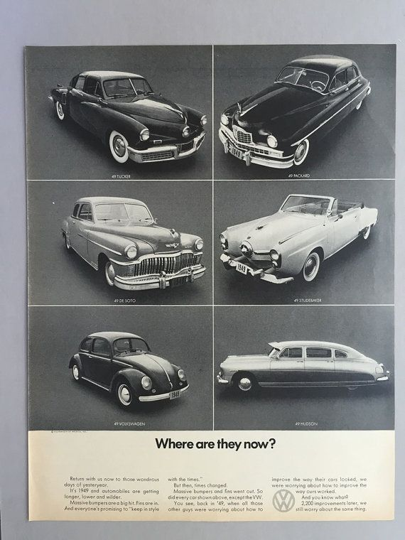 16 Best Vintage Vw Volkswagen Advertising From The 60s