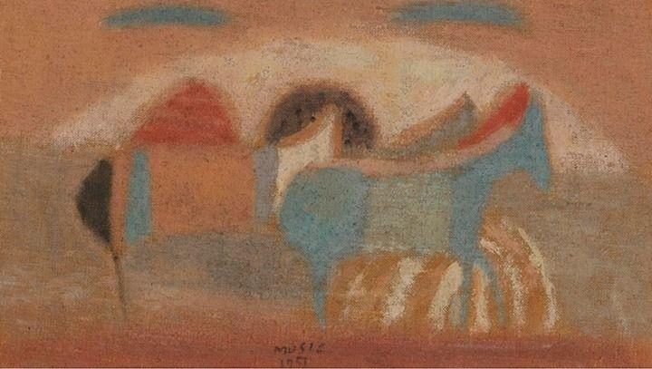 Antonio Zoran Music (1909 - 2005) Cavallini, 1951