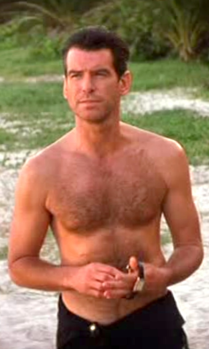 Pierce Brosnan - in ''...