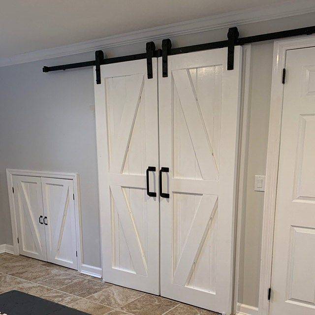 Bi Fold Barn Door Etsy In 2020 Barn Door Barn Style Doors Garage Door Design