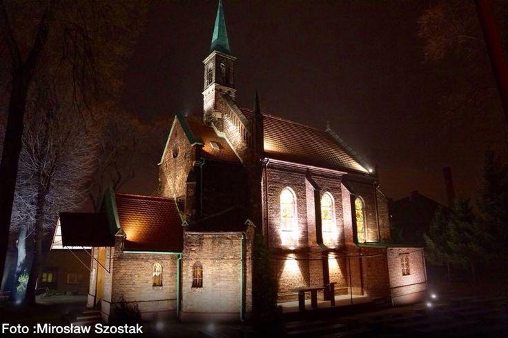 Nowa iluminacja kościoła na wzgórzu św Małgorzaty