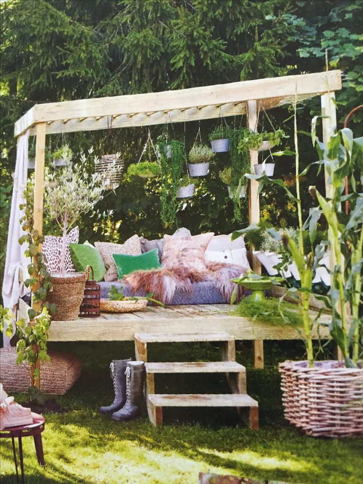 Day bed in the garden | Garden day bed, Outdoor gardens on Belham Living Lilianna Outdoor Daybed id=82604