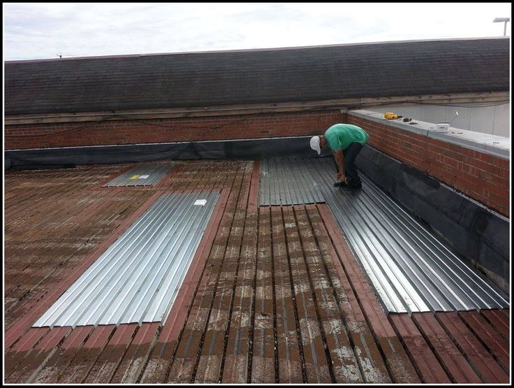 Corrugated Roof Deck Metal