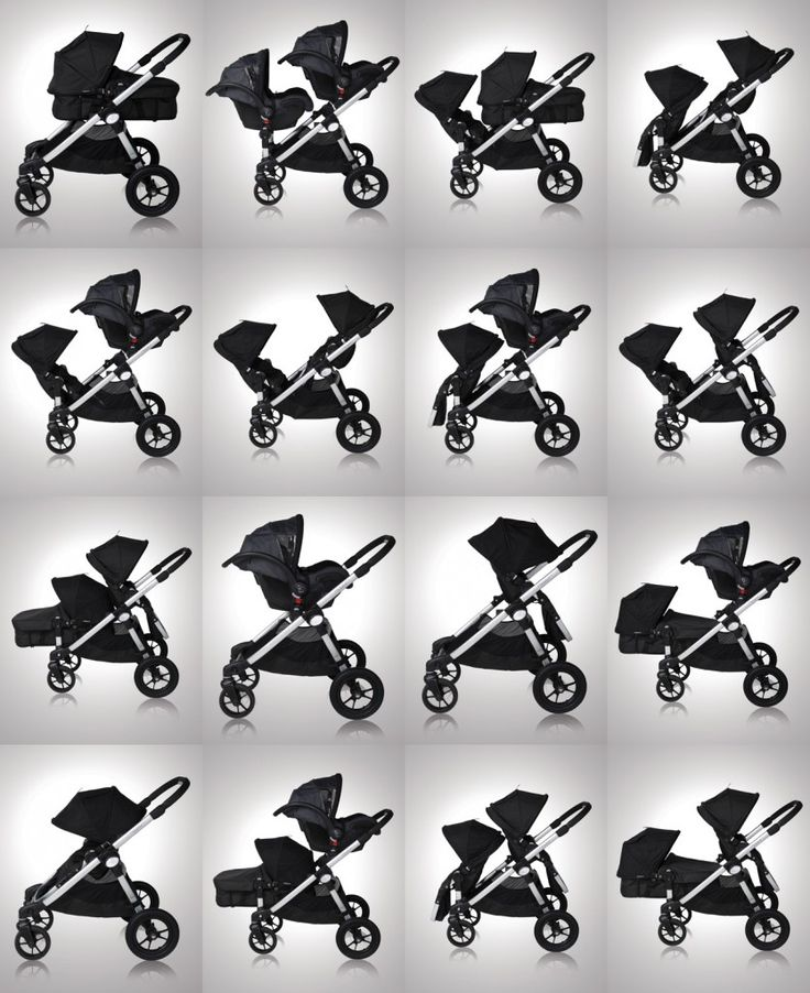 Baby Jogger City Select (with second seat attachment). Must have this with a second baby!  16 different seat combinations.