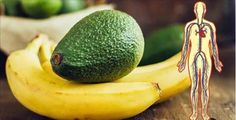 O que pode acontecer no seu corpo se você comer 1 banana e 1 abacate todos os dias!   Cura pela Natureza