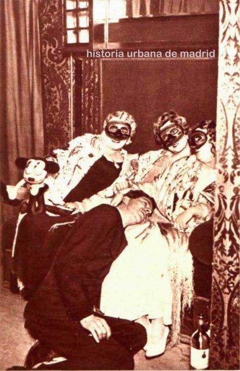 1934 Baile de Máscaras Teatro de la Zarzuela