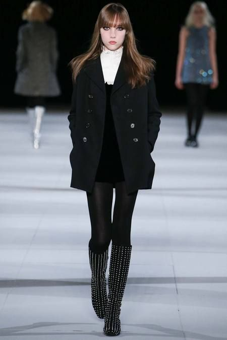 for the boots __ Saint Laurent -- fall 2014