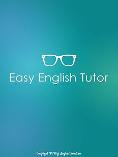 Easy English Tutor Free - An android e-learn app for making English learning easy and interesting. Simple and effective learning lessons were given with a lot of questions to practice. Try this app which is absolutely free.