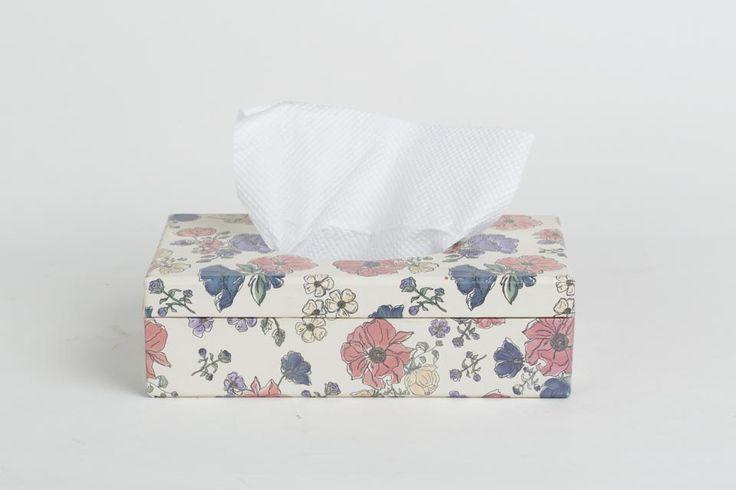 Periwinkle Tissue box