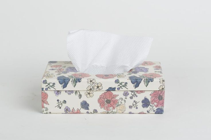 Periwinkle Tissue box