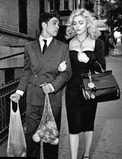 Max Schneider and Madonna by Steven Klein for Dolce & Gabbana