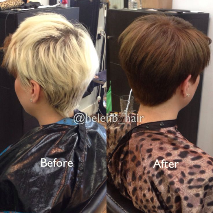 Hair Color For Short Pixie Hair