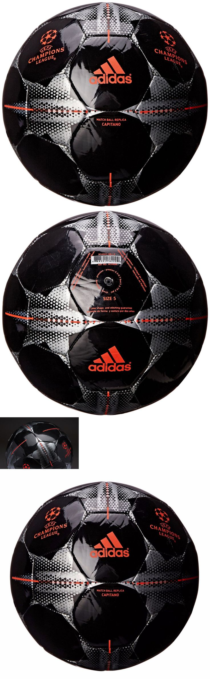 Balls 20863: Adidas Official Soccer Ball Match League Finale Final Fifa World Cup Black Size5 BUY IT NOW ONLY: $77.96