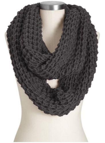 bufandas tejidas circulares, ultima moda, lindos colores
