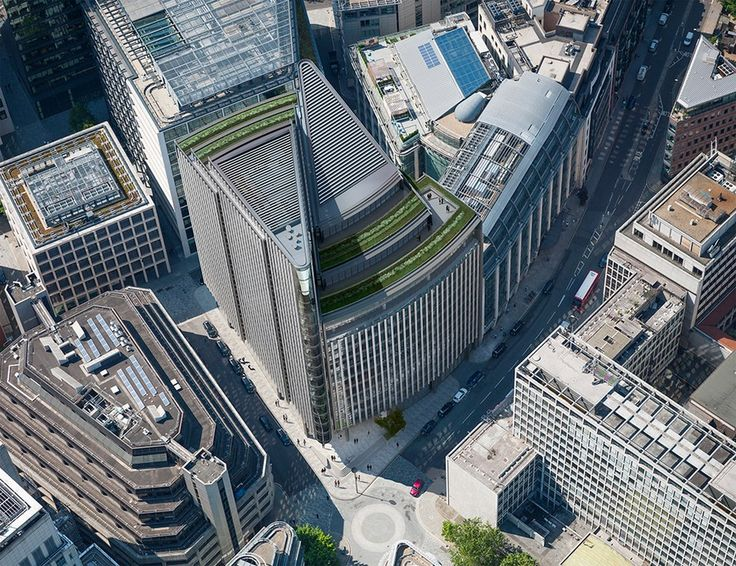 One New Street Square, #London by Skanska  http://www.e-architect.co.uk/london/one-new-street-square #england #architecture #office