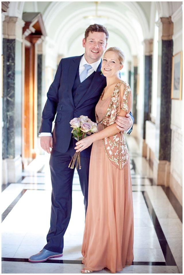 Annie + James – Gastropub wedding for a Temperley London bride - Photography by Emma Sekhon