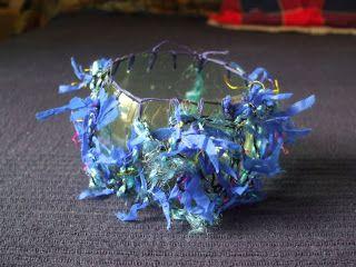 Cicatricks Designs ©: karkötők nyárra - bangles for the Summer - búzavirág= cornflower