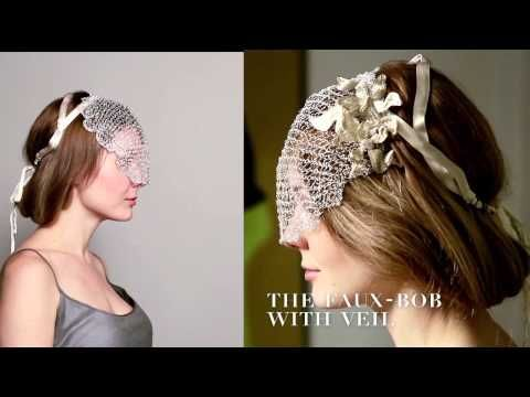 5 Hairstyles with Designer Headbands the Colette Malouf way - YouTube