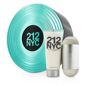 212 NYC Coffret: Eau De Toilette Spray 60ml-2oz + Body Lotion 100ml-3.4oz - 2pcs