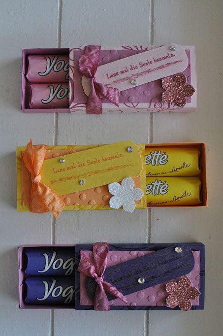 Matchbox für Yogurette Riegel - stempeldichbunt