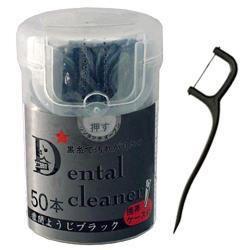 Зубочистка+зубная нить Коробочка 50штук