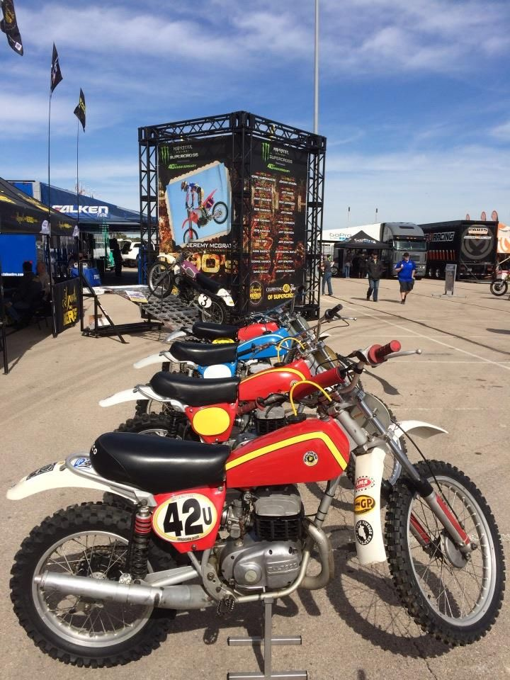 Row of Bultaco's
