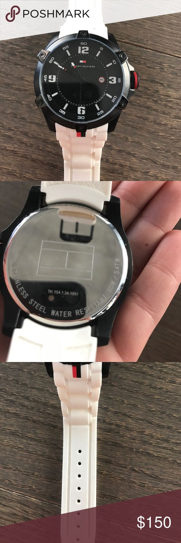 Tommy Hilfiger watch Black, white and red Tommy Hilfiger watch Tommy Hilfiger Accessories Watches