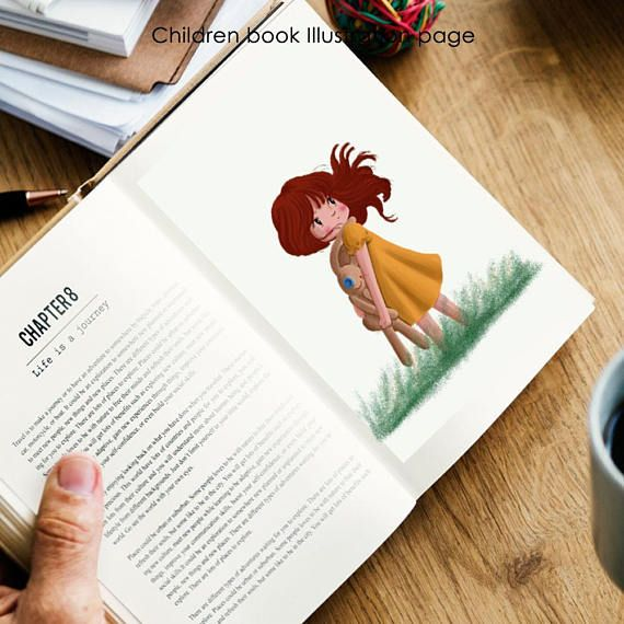Suitable gifts for your children, kids, family, best friend, boy friend, girl friends, your lovely boss, your co partner etc. And or you want to hire me to make this type of illustration, just inbox me! #childrensbooks #kidslit #illustrator #forhire