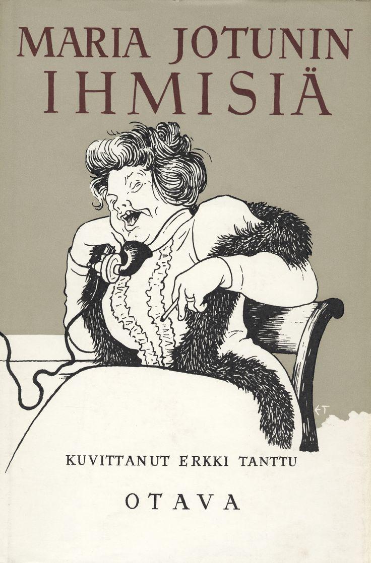 Title: Ihmisiä | Author: Maria Jotuni | Designer: Erkki Tanttu