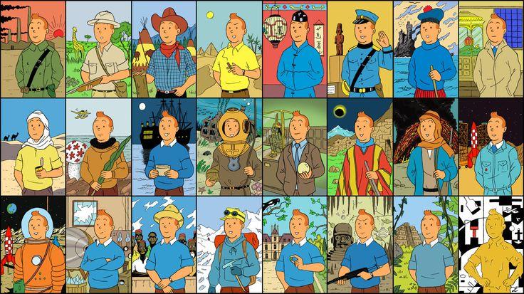 Les Aventures de Tintin :: Fausse bande-annonce de James Curran