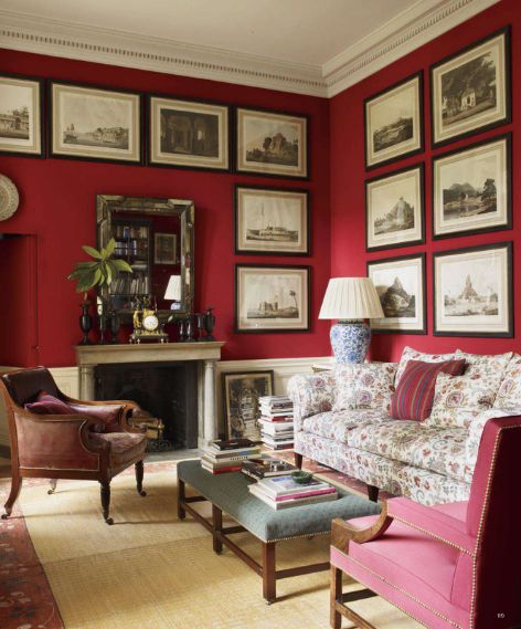 662 best Color  Red Rooms I Love images on Pinterest   Red rooms  French  interiors and Red interiors662 best Color  Red Rooms I Love images on Pinterest   Red rooms  . Red Room Decor. Home Design Ideas