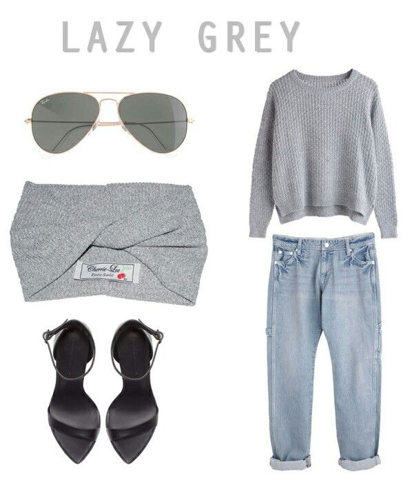 LAZY GREY LOOK I created using Polyvore CL STYLING HOUSE follow on instagram : taraleedelportcl #instagram Follow on Twitter : @Tara_Lee_CL #twitter