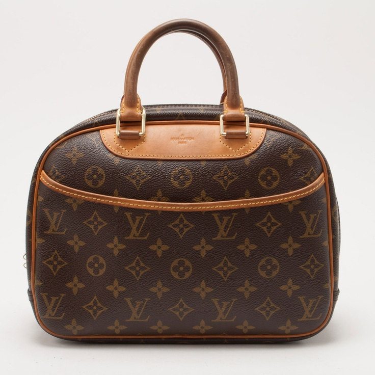 vintage Louis Vuitton Trouville In Monogram $499: Monograms 499, Ug Pur, Handbags Addiction, Places, Purses Handbags